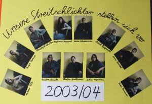 Streitschlichter 2003-2004