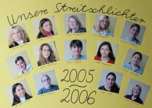 Streitschlichter 2005-2006