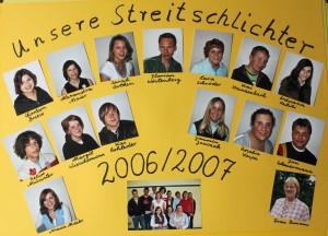 Streitschlichter 2006-2007