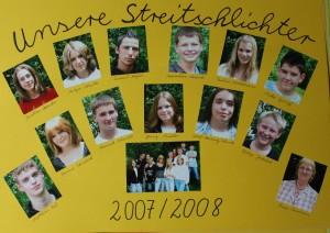 Streitschlichter 2007-2008