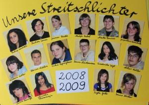 Streitschlichter 2008-2009