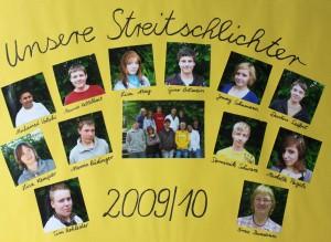 Streitschlichter 2009-2010